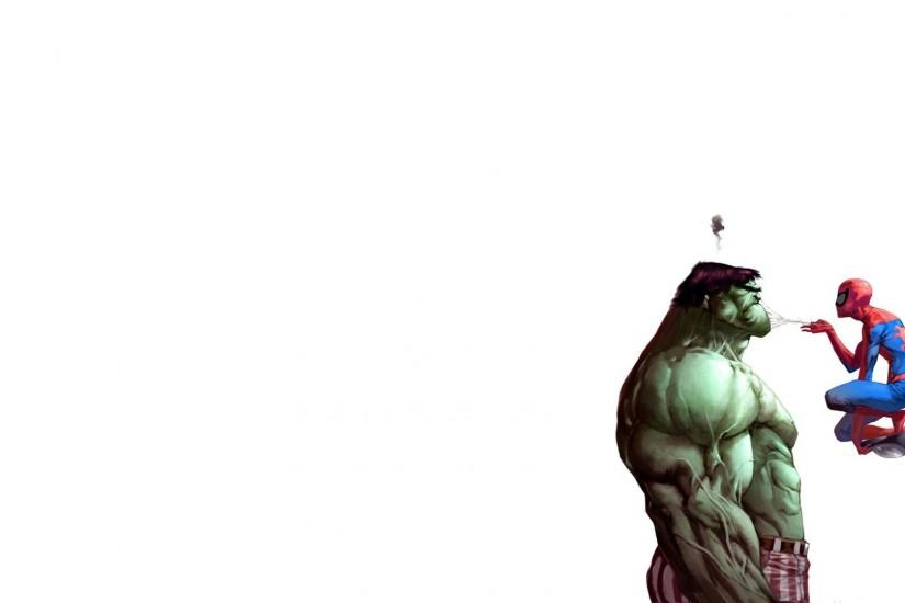 Comics Hulk Comic Character Marvel Spider-Man Wallpaper