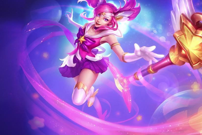 Video Game - League Of Legends Lux (League Of Legends) Wallpaper