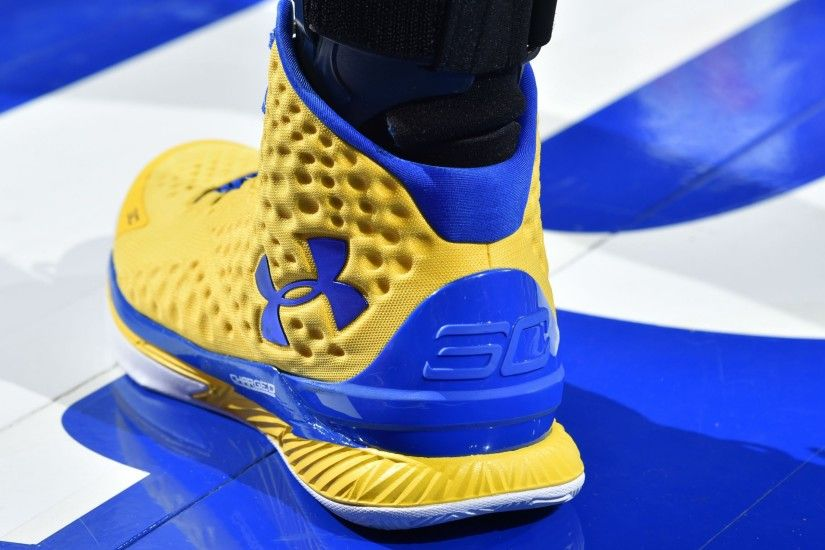 Preview wallpaper stephen curry, shoes, sneakers, sports 3840x2160