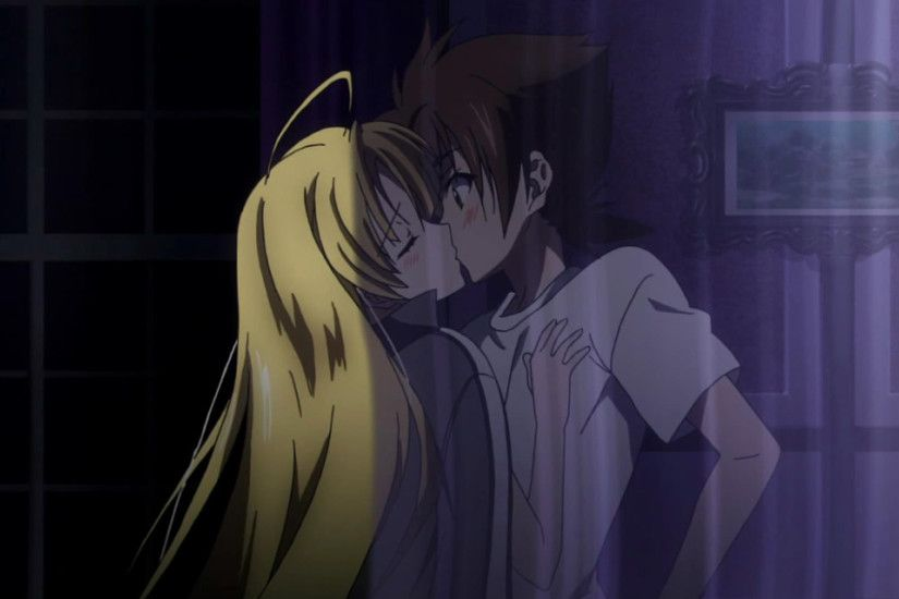 Image - Asia Kissing Issei.png | High School DxD Wiki | FANDOM powered by  Wikia