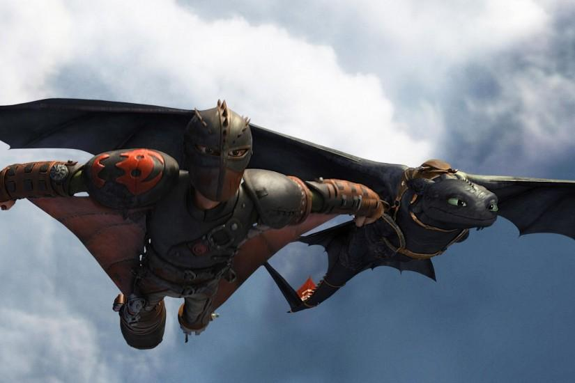 Toothless Hiccup Wallpaper HD