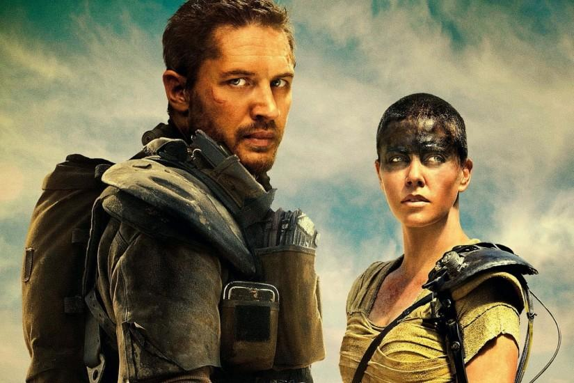 Preview wallpaper mad max fury road, 2015, tom hardy, charlize theron  1920x1080