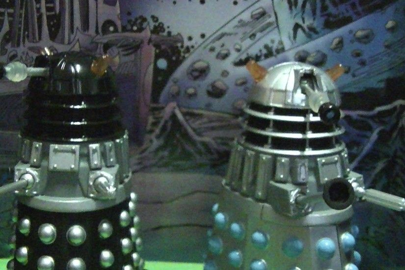 Doctor Who Dalek Invasion of Earth collector set 2