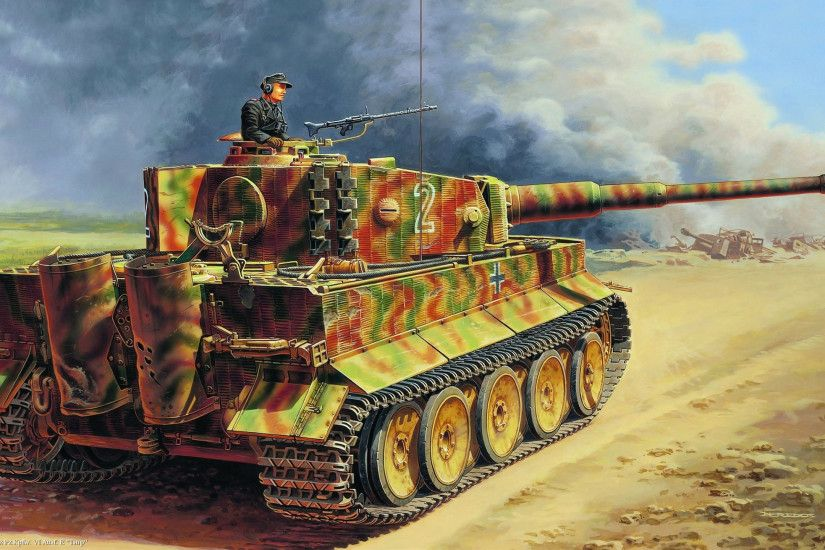 Tiger Tank Wallpapers (48 Wallpapers)