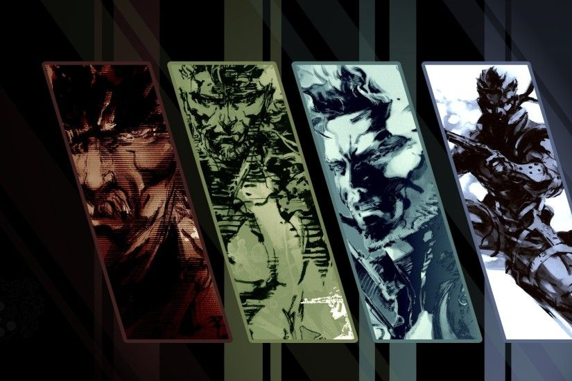 General 2560x1440 Metal Gear Solid 3: Snake Eater Metal Gear Solid collage  video games Metal