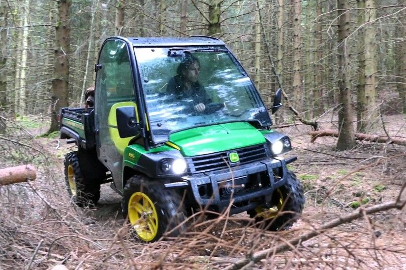 John Deere Trail Gator 4x2 Utility Vehicle Review Test