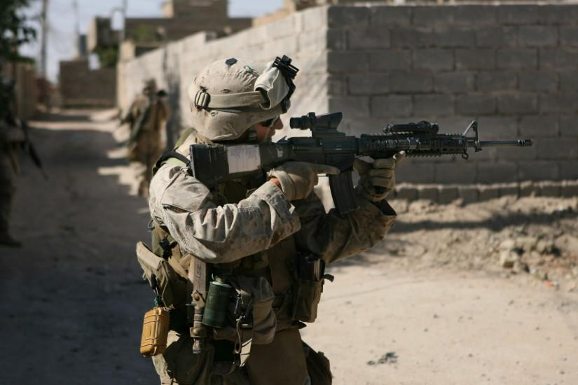 Army, Weapons, Marines, Soldiers, Sight, Marine, Colt M4, Usa