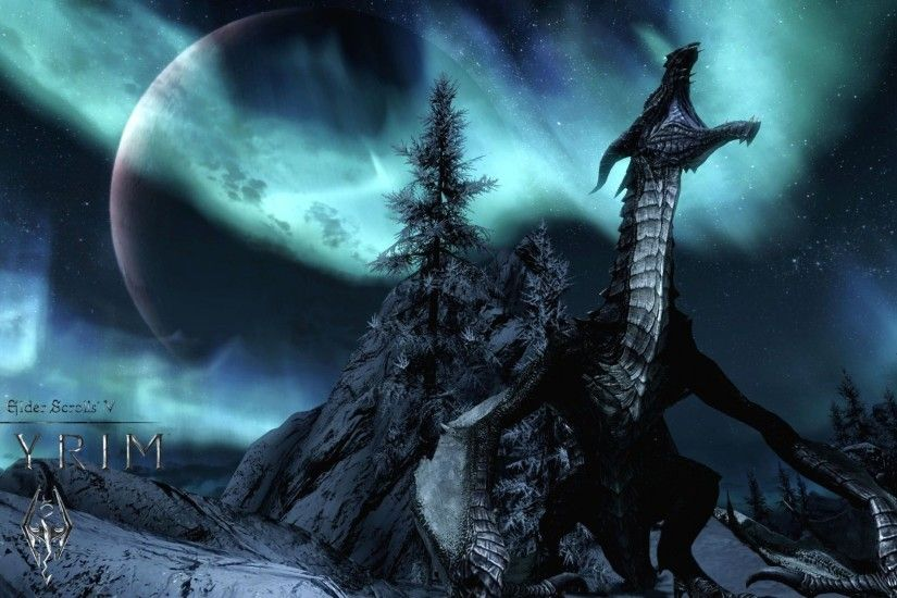Skyrim Dragon wallpaper - 1105141