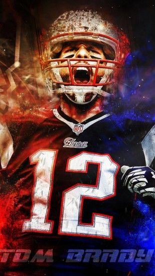 Wallpaper Tom Brady Patriots iPhone with high-resolution 1080x1920 pixel.  You can use this