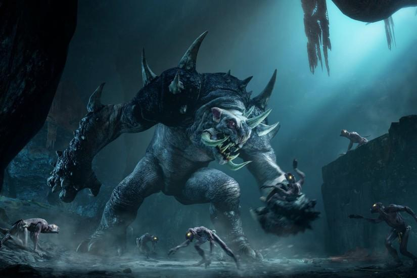 Middle-Earth Shadow of Mordor New Screenshots reveals a new Monster
