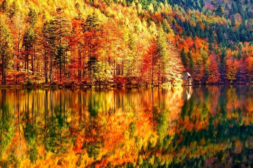 Fall Landscape Autumn Nature Wallpapers