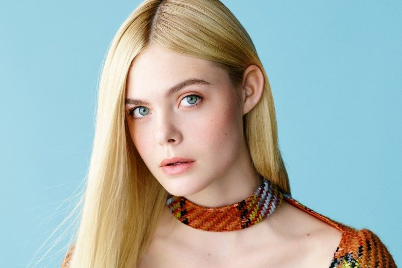 Elle Fanning Charming Face HD Wallpapers
