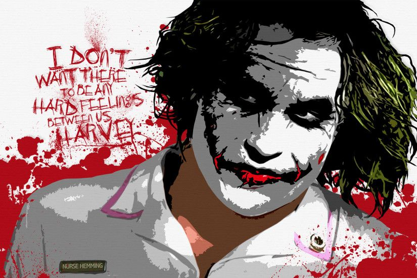 Free the joker nurse hemming wallpaper background