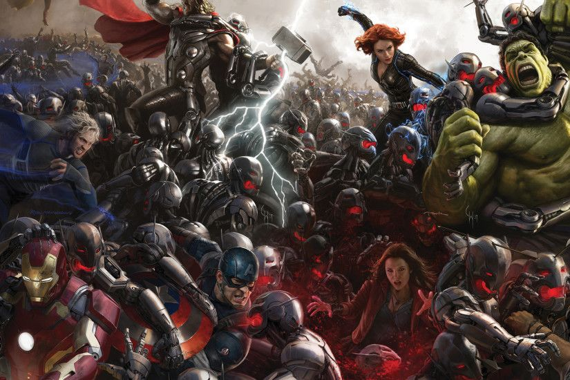 My Xbox One Background: Avengers Age of Ultron (I love this artwork) ...