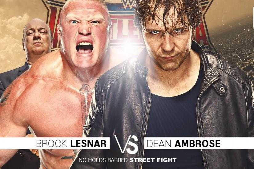 Arunraj1791 0 0 Dean Ambrose VS Brock Lesnar Wallpaper by Arunraj1791