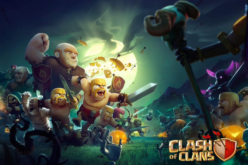 ... amazing game, Clash of Clans! I will try to update this page weekly. If  you have new wallpapers, please do a comment to share it! Thank you so much  :).