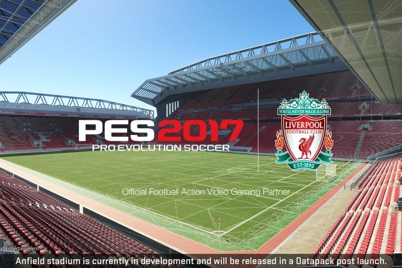 "Pro Evolution Soccer on Twitter: ""The big one. Anfield. After a free  update, it'll be in. Also, the 'You'll Never Walk Alone' anthem too!"