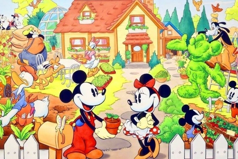 HD Wallpaper | Background ID:335522. 1920x1200 Cartoon Mickey Mouse