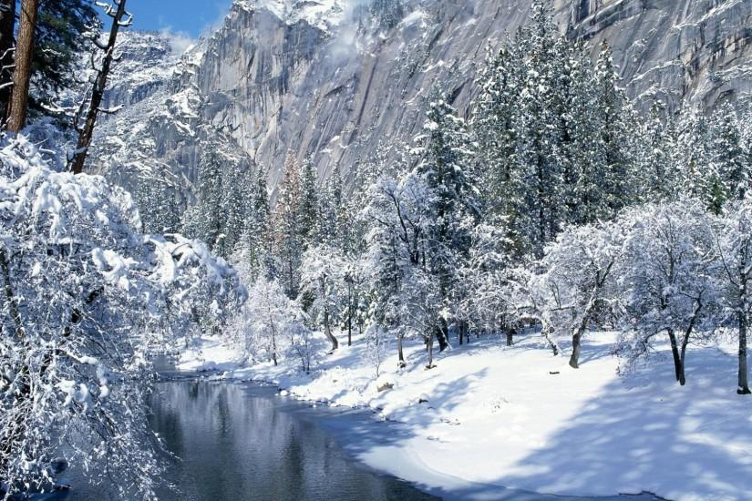 Beautiful Nature Winter Wallpaper