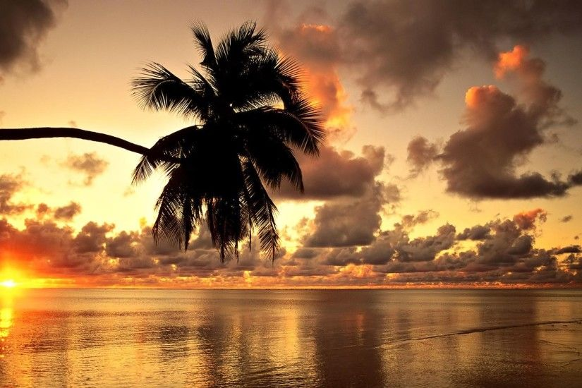 Hawaiian Sunset HD Beach Wallpapers 1080p | HD Wallpapers Source