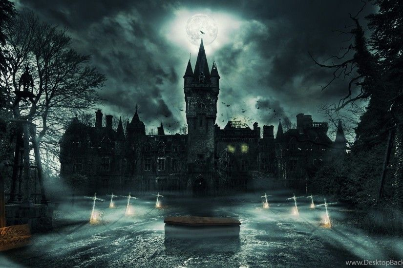 High Resolution Ghost Castle Wallpapers Full Size SiWallpaperHD 17872