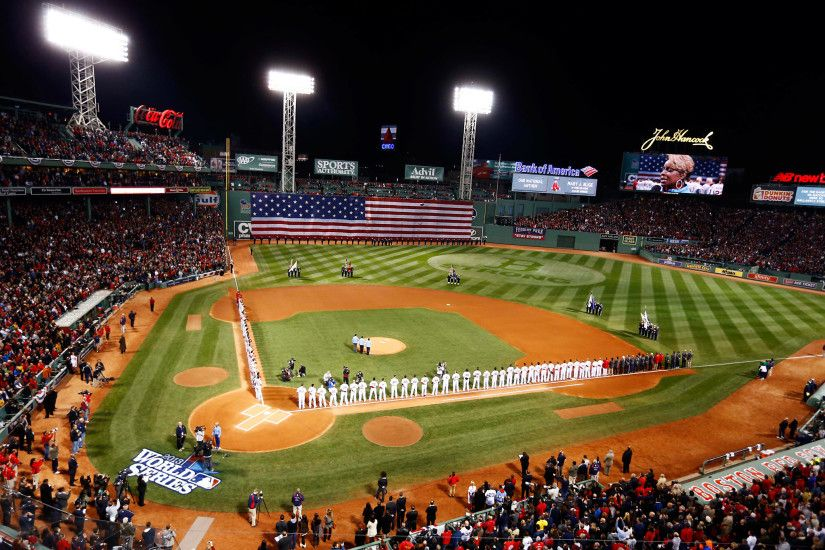 A Brief History Of The Boston Red Sox Fenway Park Wallpapers ...