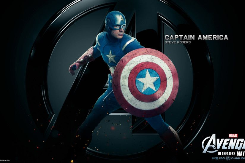 Marvel-The-Avengers-Movie-2012-HD-Wallpaper-Captain-