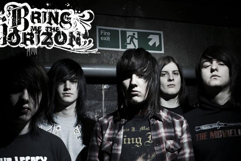 Preview wallpaper bring me the horizon, hair, look, exit, pipe 1920x1080