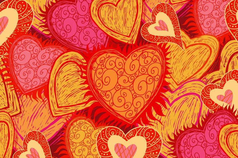 new hearts wallpaper 1920x1200