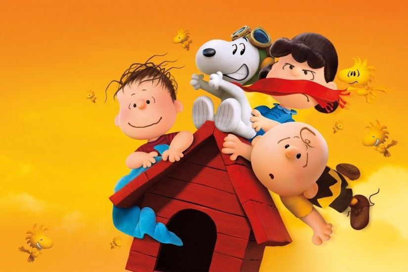 The Peanuts Snoopy and Charlie 2015 Movie HD desktop