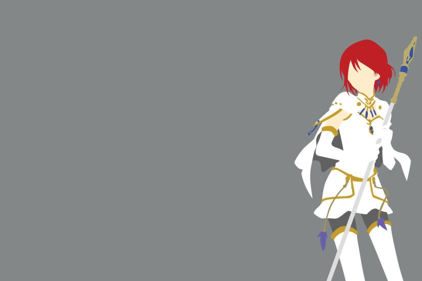 Anime - Snow White With The Red Hair Shirayuki Wallpaper