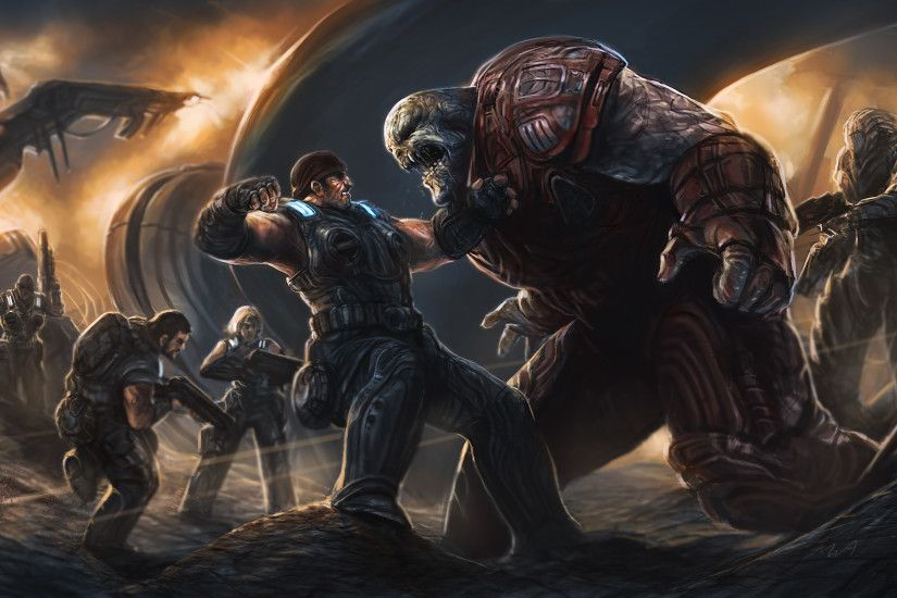 Gears Of War Computer Wallpapers, Desktop Backgrounds