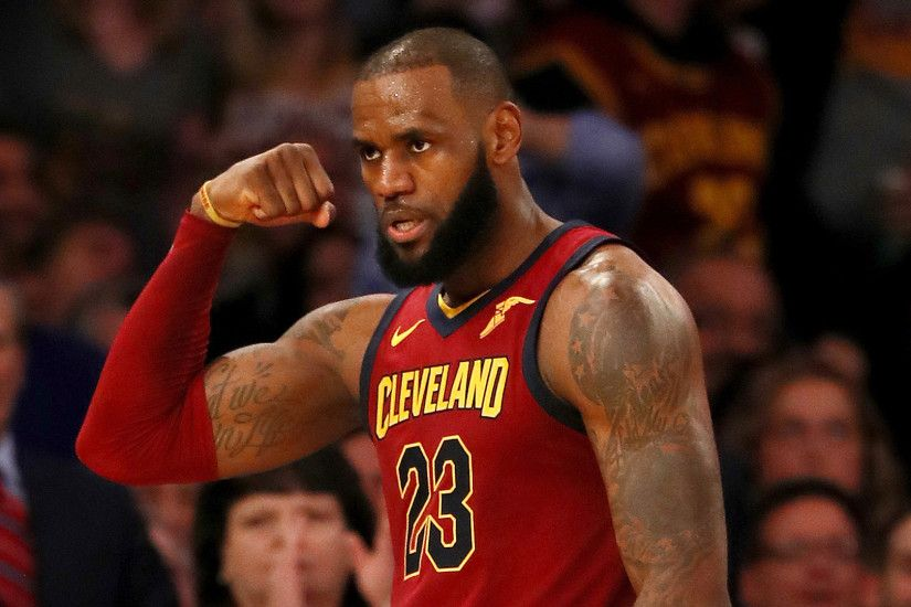 LeBron James congratulates himself on Instagram for reaching 30k points
