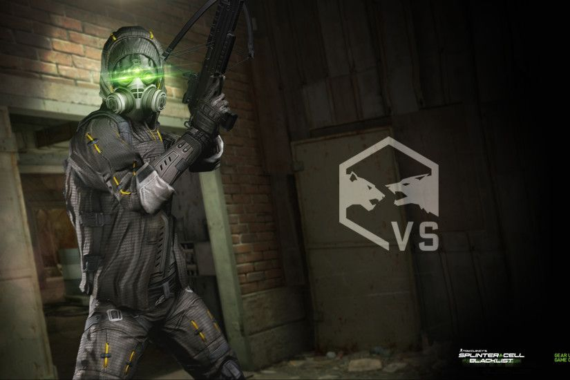 Third Set of GeForce Exclusive Tom Clancy's Splinter Cell Blacklist  Wallpaper Now Available