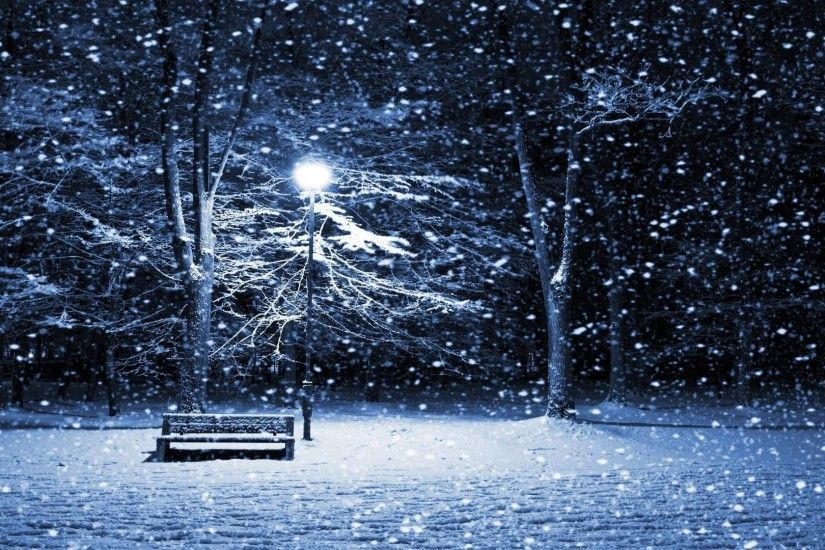 ... Snowy Winter Scenes Wallpaper - WallpaperSafari ...