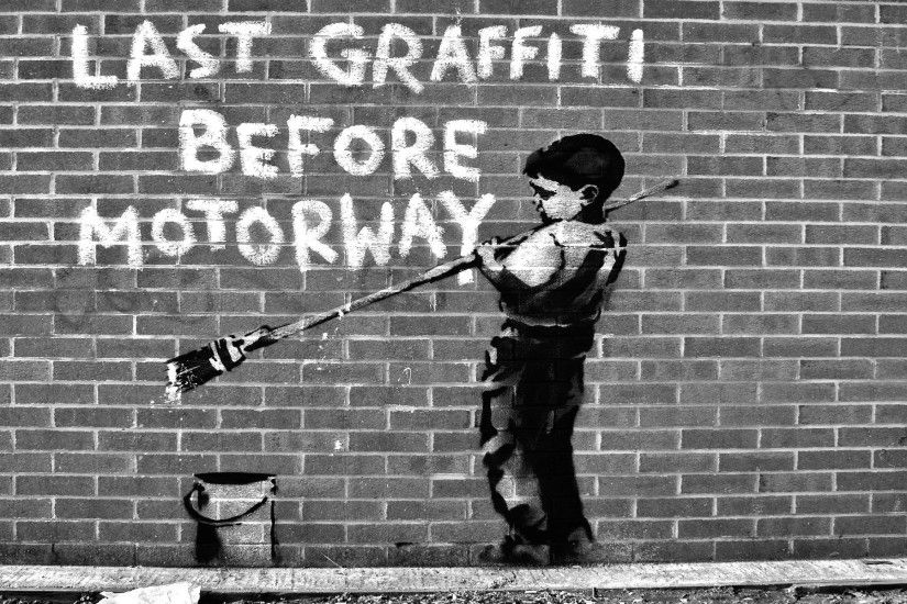 Banksy art wallpaper (17)