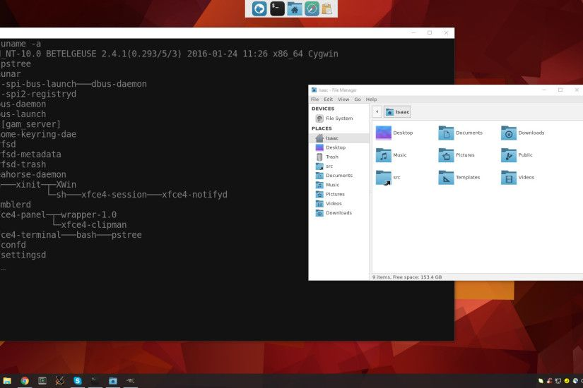 Bash plus Windows 10 equals Linux GUI apps on the Windows desktop