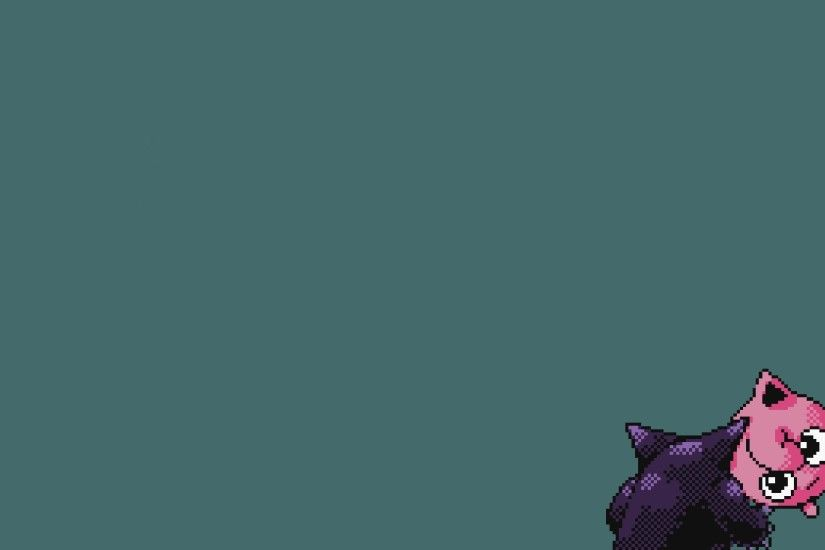 Minimalist Wallpaper Pokemon Gengar