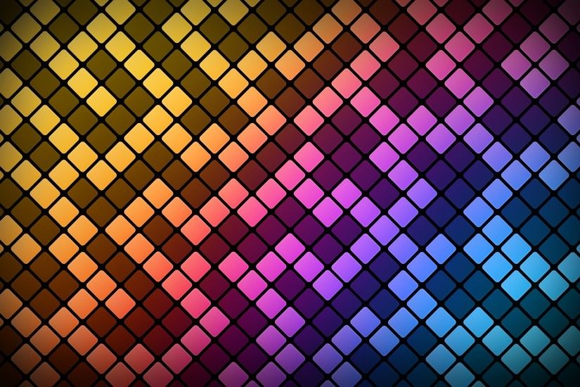 colorful, Pattern, Abstract, Square, Digital Art, Lines Wallpapers HD /  Desktop and Mobile Backgrounds