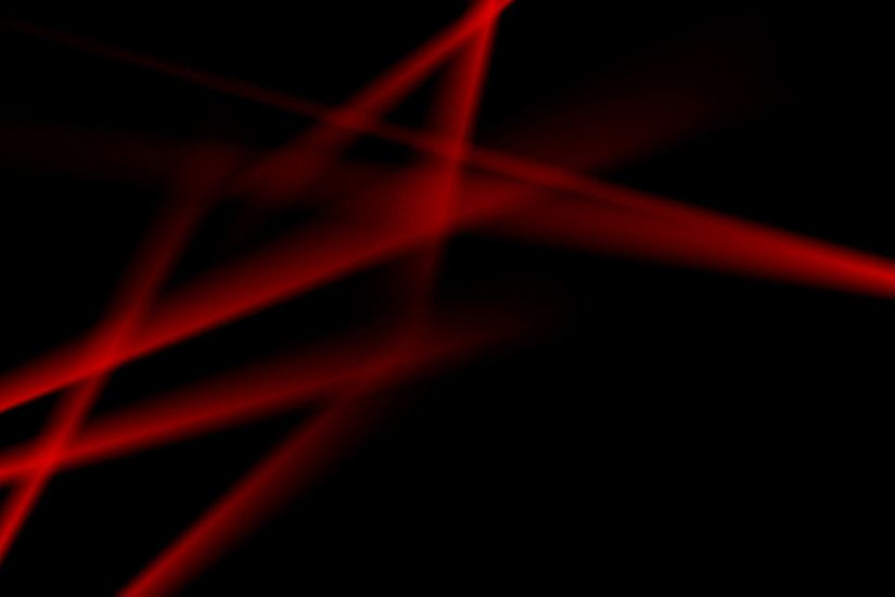 Glowing neon red smooth stripes on black background. Video animation Ultra  HD 4K 3840x2160