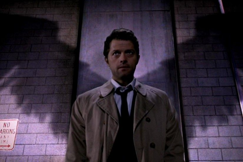 First attempt Castiel 1920x1080 cross post from /r/wallpapers/ ...