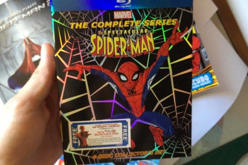 The Spectacular Spider Man The Complete Series Unboxing