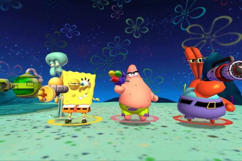 most popular spongebob background 1920x1080 for 1080p