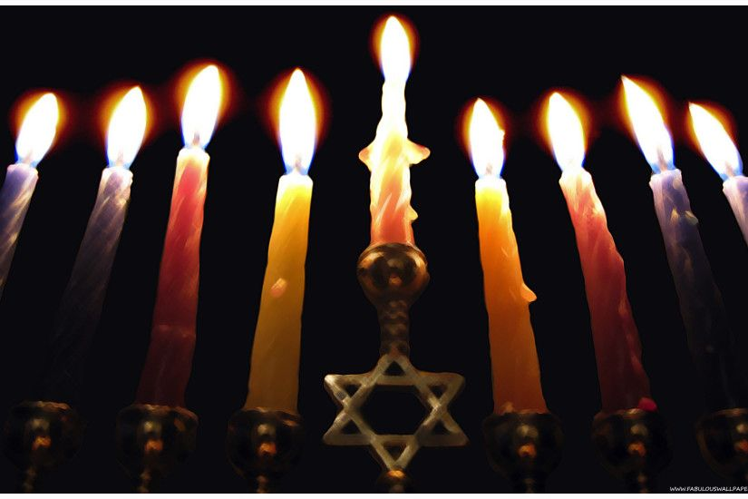 Hanukkah Desktop Background · Menorah Wallpaper