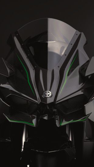 Kawasaki-H2R-front-iPhone-Parallax-3Wallpapers