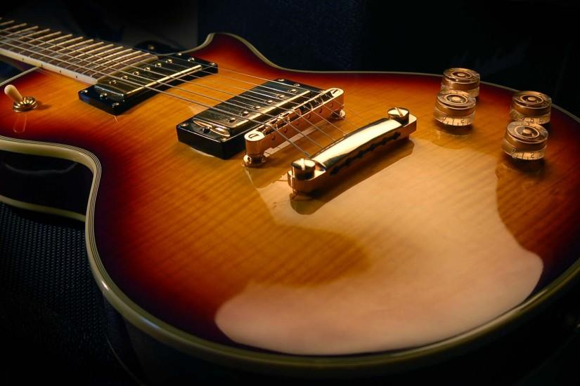 Guitar wallpaper, Gibson Les Paul supreme guitar