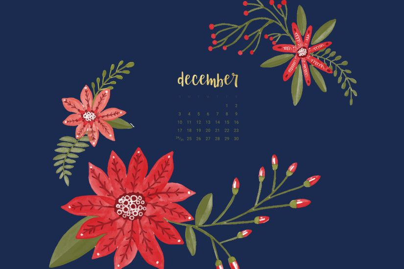 Click here to download your FREE December desktop and smart phone wallpapers !