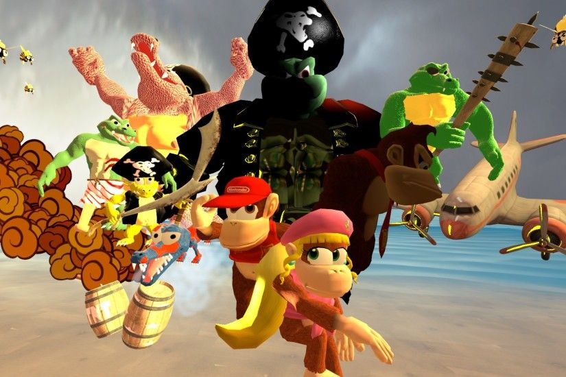 Donkey Kong Country 2 by Sonosublime Donkey Kong Country 2 by Sonosublime