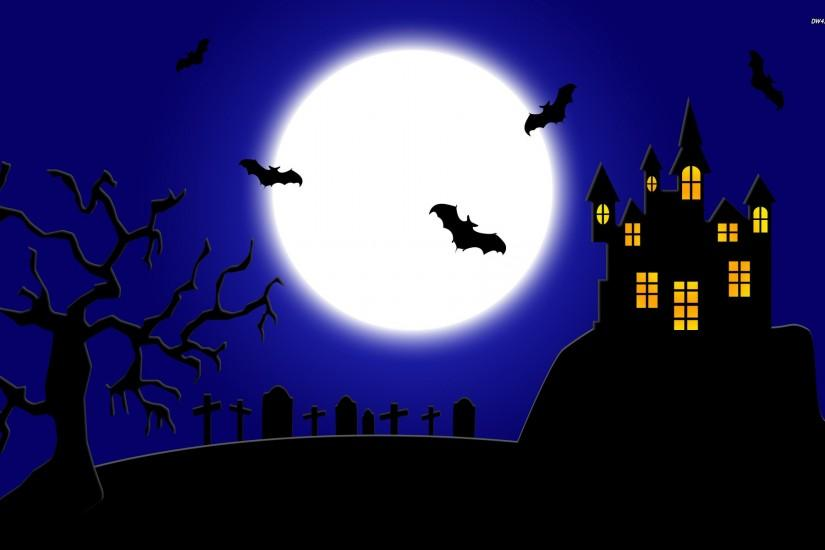Spooky Halloween wallpaper - Holiday wallpapers - #861