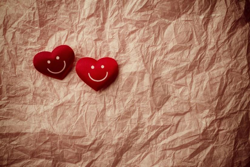 mood heart heart smile smile smile background crumpled paper widescreen  full screen hd wallpapers